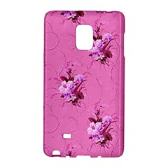 Pink Floral Pattern Galaxy Note Edge