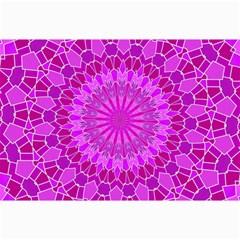 Purple and Pink Mandala Collage 12  x 18