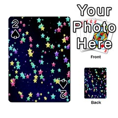 Pretty Stars Pattern Playing Cards 54 Designs
