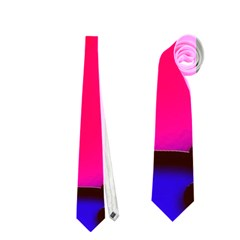 Colorful Modern Love 2 Neckties (One Side)