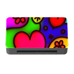 Colorful Modern Love 2 Memory Card Reader with CF