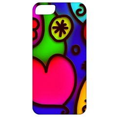 Colorful Modern Love 2 Apple iPhone 5 Classic Hardshell Case