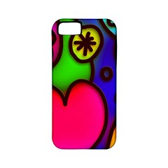 Colorful Modern Love 2 Apple iPhone 5 Classic Hardshell Case (PC+Silicone)