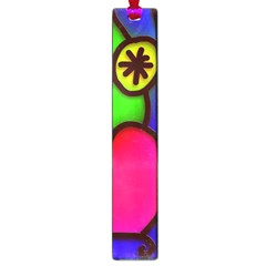 Colorful Modern Love 2 Large Book Marks