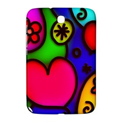 Colorful Modern Love 2 Samsung Galaxy Note 8.0 N5100 Hardshell Case