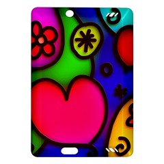 Colorful Modern Love 2 Kindle Fire HD (2013) Hardshell Case