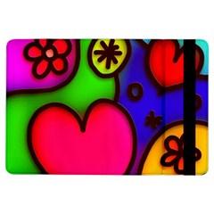 Colorful Modern Love 2 iPad Air Flip