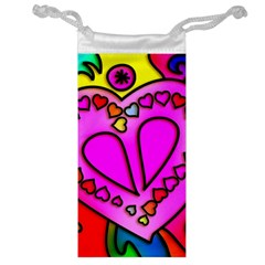Colorful Modern Love Jewelry Bags