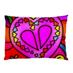 Colorful Modern Love Pillow Cases