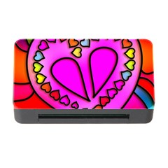 Colorful Modern Love Memory Card Reader With Cf