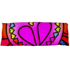 Colorful Modern Love Body Pillow Cases (dakimakura)