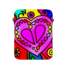 Colorful Modern Love Apple iPad 2/3/4 Protective Soft Cases