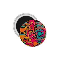 Colorful shapes 1.75  Magnet