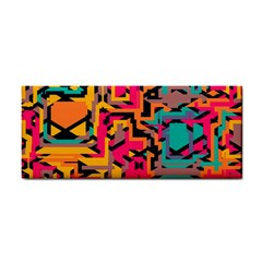 Colorful shapes Hand Towel