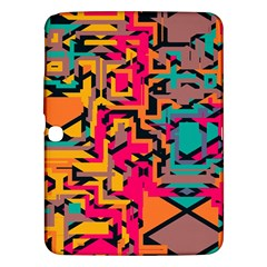 Colorful shapes Samsung Galaxy Tab 3 (10.1 ) P5200 Hardshell Case