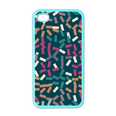 Floating rectangles Apple iPhone 4 Case (Color)