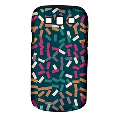 Floating rectangles Samsung Galaxy S III Classic Hardshell Case (PC+Silicone)