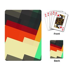 Miscellaneous retro shapes Playing Cards Single Design