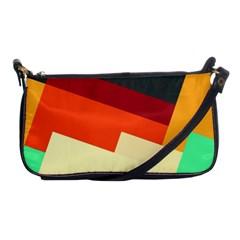 Miscellaneous retro shapes Shoulder Clutch Bag