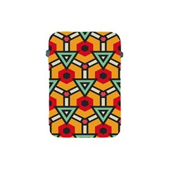 Triangles and hexagons pattern Apple iPad Mini Protective Soft Case