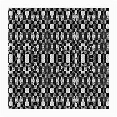Black and White Geometric Tribal Pattern Medium Glasses Cloth (2-Side)