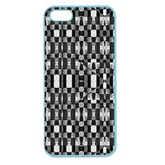 Black and White Geometric Tribal Pattern Apple Seamless iPhone 5 Case (Color)