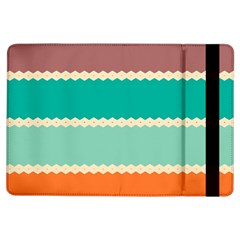Rhombus and retro colors stripes pattern