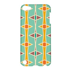 Rhombus pattern in retro colors Apple iPod Touch 5 Hardshell Case