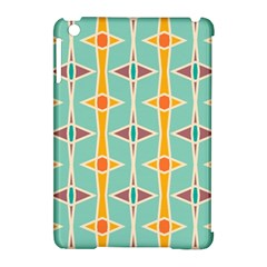 Rhombus pattern in retro colors 			Apple iPad Mini Hardshell Case (Compatible with Smart Cover)