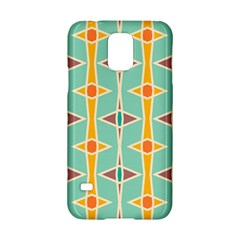 Rhombus pattern in retro colors 			Samsung Galaxy S5 Hardshell Case
