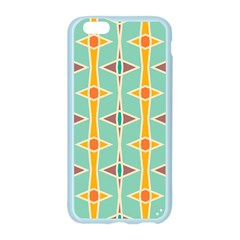 Rhombus pattern in retro colors Apple Seamless iPhone 6/6S Case (Color)