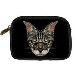 Angry Cyborg Cat Digital Camera Cases
