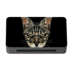 Angry Cyborg Cat Memory Card Reader with CF