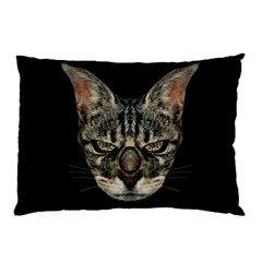 Angry Cyborg Cat Pillow Cases (two Sides)