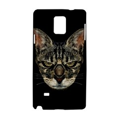 Angry Cyborg Cat Samsung Galaxy Note 4 Hardshell Case