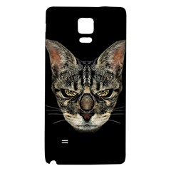 Angry Cyborg Cat Galaxy Note 4 Back Case