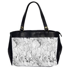 White Marble Office Handbags (2 Sides)
