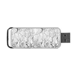 White Marble Portable USB Flash (Two Sides)