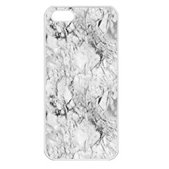 White Marble Apple iPhone 5 Seamless Case (White)