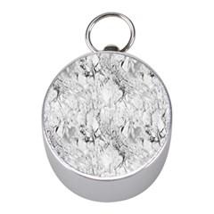 White Marble Mini Silver Compasses