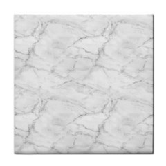 White Marble 2 Face Towel