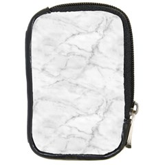White Marble 2 Compact Camera Cases