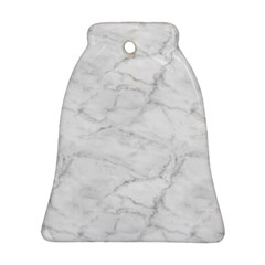 White Marble 2 Ornament (Bell)