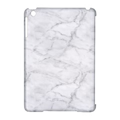 White Marble 2 Apple iPad Mini Hardshell Case (Compatible with Smart Cover)