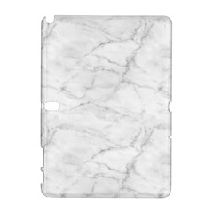 White Marble 2 Samsung Galaxy Note 10.1 (P600) Hardshell Case