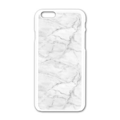 White Marble 2 Apple Iphone 6/6s White Enamel Case