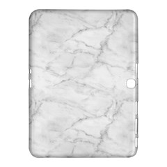 White Marble 2 Samsung Galaxy Tab 4 (10.1 ) Hardshell Case