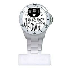 I Am Getting Meowied Nurses Watches
