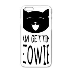 I Am Getting Meowied Apple Iphone 6/6s White Enamel Case