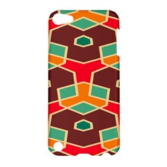 Distorted shapes in retro colors			Apple iPod Touch 5 Hardshell Case